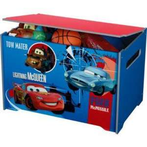 Disney Pixar Cars 2 Toy Box - Blue. - £16.99 was £39.99 from Argos