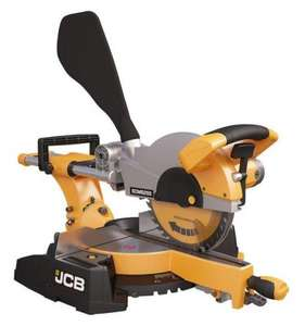 JCB 255mm Sliding Mitre Saw - B&Q instore / reserve for collection - £129.98 + Quidco