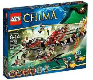 LEGO Legends of Chima 70006: Cragger's Command Ship  £34.99 -50% off @ amazon