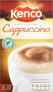 Kenco Cappuccino/ Caffe Latte 149g/158g was £2.49 now £1.24 @ Morrisons