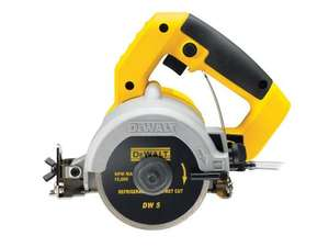 DeWalt DWC410 240V Hand Held Wet Circular Tile Saw 81% off - £95.98 & Free Delivery with Amazon Prime