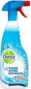 Dettol Power And Pure Bathroom Spray 750ml  is Only £1.50 @ Asda