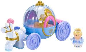 Fisher price little people cinderella coach £13.50 delivered Amazon 50% off