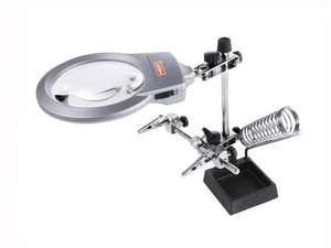 Third Hand - Precision Magnifying Glass with LED Light £4.99 instore Lidl from Monday 21st Oct