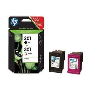 HP 301 combo pack genuine, cheap if you're not in a hurry - £12.22 @ Amazon