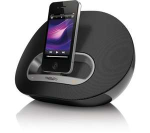 PHILIPS DS3110 iPod & iPhone Speaker Dock - Black (Not Lightning) - £24.97 @ Currys / PC World