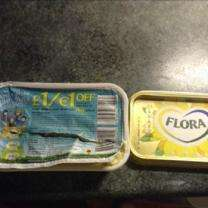 Unlimited tubs of Flora Buttery for £1 @ co op