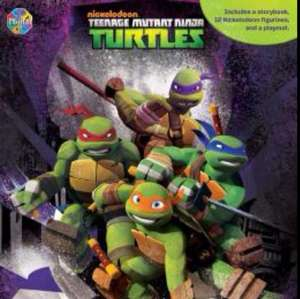 Teenage Mutant Ninja Turtles Busy Book £3.99 @ Home Bargains