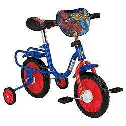 "Tesco Direct Spider-Man 10"" Kids Bike Half Price now £25.00"