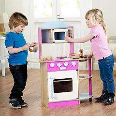 Wooden Kitchen Set Asda Half Price £35