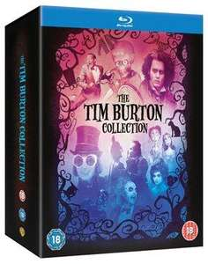 Tim Burton Collection Blu-ray £18.21 @ Amazon.co.uk