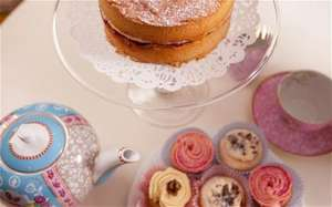 free tea and cake at john lewis - monthly for loyalty card holders from 30th Oct