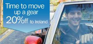 20% off your next trip to Ireland with Stena Line & 5% TCB/Quidco