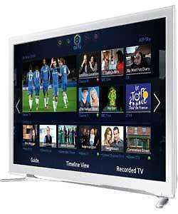 SAMSUNG UE32F4510 32IN HD READY SMART LED TV - WHITE £233.99 + : £3.95  P&P @ Argos Ebay