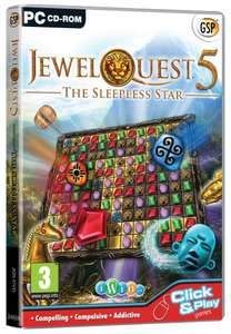 Jewel Quest 5: The Sleepless Star (PC CD) in store £1.00 @ Asda