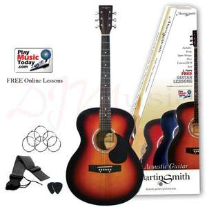 Full size Acoustic Guitar £38.99 + £4.99 delivery @ DJM Music