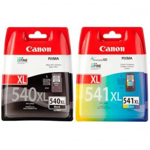 Canon Original PG-540XL Black & CL-541XL Colour Ink Cartridges £29.88 del@globalape