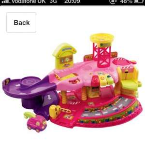 Vtech pink Toot toot Garage £26.66 @ Amazon