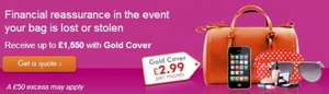 AIG Handbag Cover only £2.99 per month - UK's cheapest
