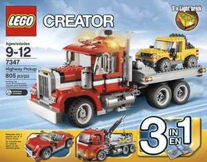 LEGO Creator / Castle / Technic sets at reduced prices at ASDA online - list inside