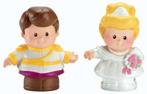 Little People Disney 2 Pack: Cinderella & Prince Charming £6.99 Sold by Fun Collectables and Fulfilled by Amazon.
