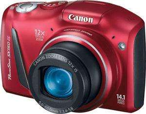 Canon PowerShot SX150 IS 14.1 MP Camera (Refurbished) £37.90 @canon ebay outlet