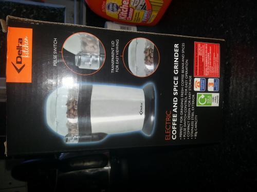Delta Coffee and Spice Grinder £12.99 @ Aldi