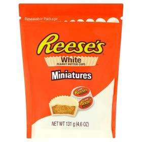 Reese's White Peanut Butter Cups Miniatures 131g bag just £1 @ Asda!!