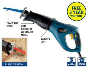 Aldi 710W Reciprocating Saw instore 24th Oct £24.99