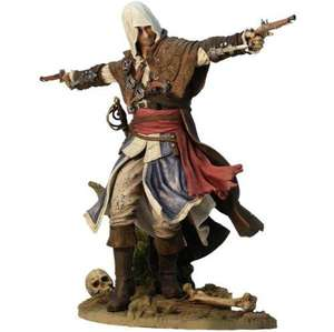 Assassins Creed IV Figurine - Edward Kenway: The Assassin Pirate & 3 DLC Items @ Amazon & GAME (also have exclusive Blackbeard figurine) - £29.99