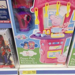 Peppa pig electronic kitchen set instore £20 at Tesco