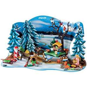 Free Playmobil Advent Calendar (worth £17.99) when you spend £45.00 or more on Playmobil at toys r us