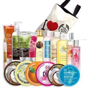 The Body Shop complete package - £48 instead of £80 with code