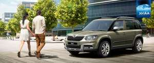 Save £800+ on a 2014 new model Skoda Yeti - pre-increase prices for 3 days only + 0% APR, 3 years free servicing