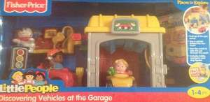 Fisher-Price Little People Mini Garage  £7.50 HALF PRICE IN STORE TESCO