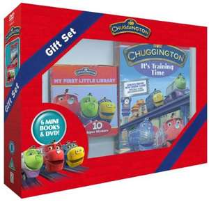 Chuggington Book & DVD gift set £4.99 Sold by Direct-Offers-UK-FBA and Fulfilled by Amazon