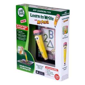 Leapfrog Learn to Write with Mr Pencil Learning toy £10.95 delivered @ Amazon