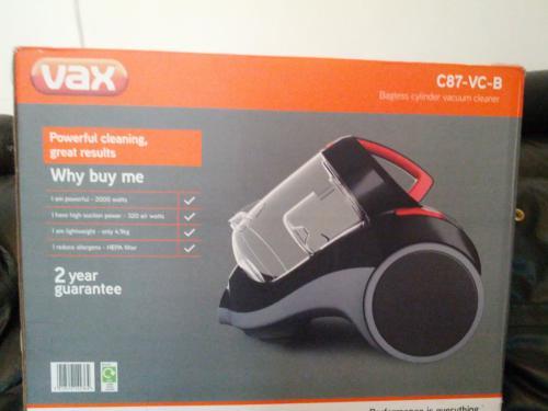 Vax C87-VC-B bagless cylinder vacuum cleaner - £54.99 @ Argos