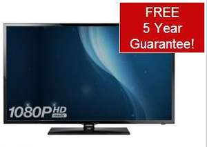 Samsung UE42F5000 42 inch Full HD LED TV with Freeview HD for £379.95 @ Richer Sounds + Free 5 year guarantee