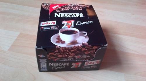 24 Nescafe 2 in 1 espresso and sugar sachets £1 at Poundland