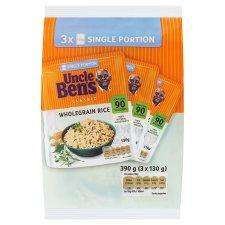 Uncle Bens Microwave Rice, 3 x 130 grms multi packs £1 @ Tesco