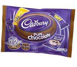 Cadburys Goody Bags £1.50, Pouches £0.93, 8 Pepsi Cans £1.79 - better than half price @ Morrisons