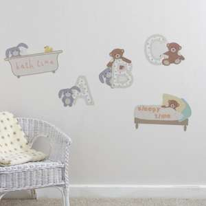 Dunelm ABC Wall Stickers was £2.09 now £0.74