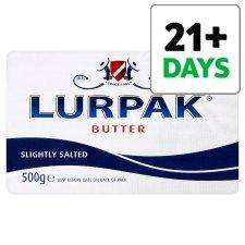 Lurpak Butter Slightly Salted 500G  £2 @Tesco