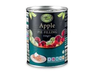 sweet valley pie filling reduced from 99p to 59p @aldi 550g tin