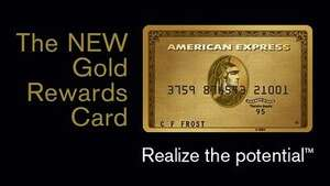 Get paid £60 to sign up for an AmEx gold card via TopCashBack NO FEE SO FREE MONEY (and possible £100 in vouchers for retailers of your choice to boot)