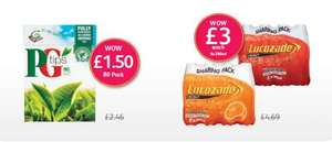 Lucozade Sharing Pack £3.00 @ Londis