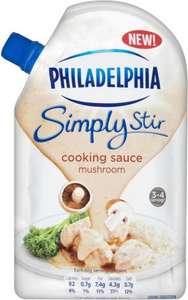 Philadelphia Simply Stir Mushroom Cooking Sauce (200g) ONLY £1.00 @ Asda & Ocado