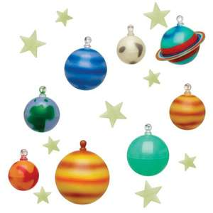 glow in the dark solar system @ wilko - £3