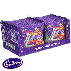 Cadbury Christmas Selection Box (case of 20) for £15! Free collection @ Home Bargains
